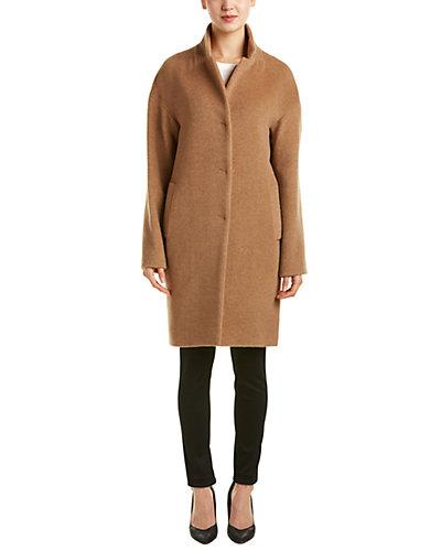 Cinzia Rocca Icons Alpaca & Wool-Blend Car Coat
