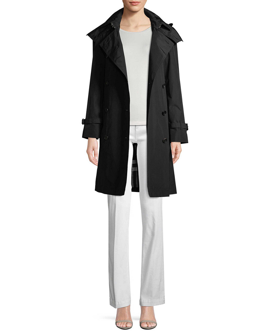 MONOCHROME TRENCH COAT