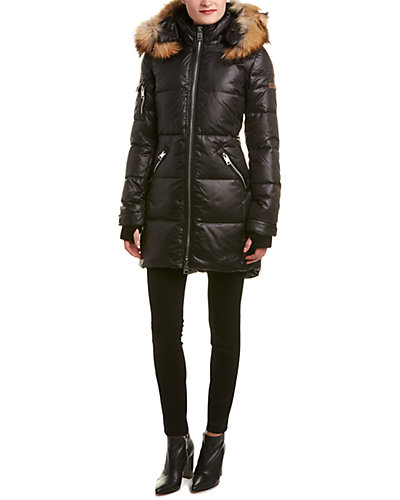 Nicole Benisti Quilted Down Coat
