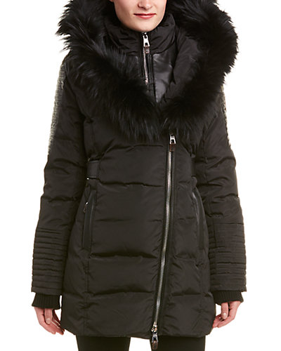 Nicole Benisti Belted Down Coat