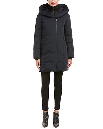 Soia & Kyo Karlina Hooded Down Coat
