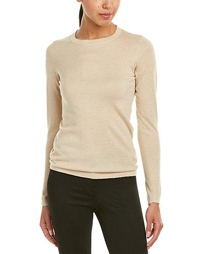 Brunello Cucinelli Cashmere & Silk-Blend Crewneck Sweater