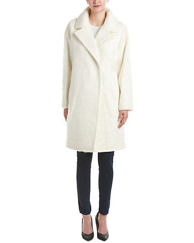 Badgley Mischka Jenna Wool & Mohair-Blend Coat