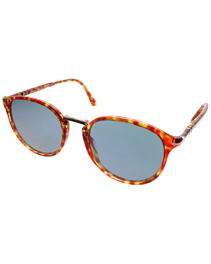 df7aa5b6c485a Persol Mens Men s Oval 54Mm Sunglasses