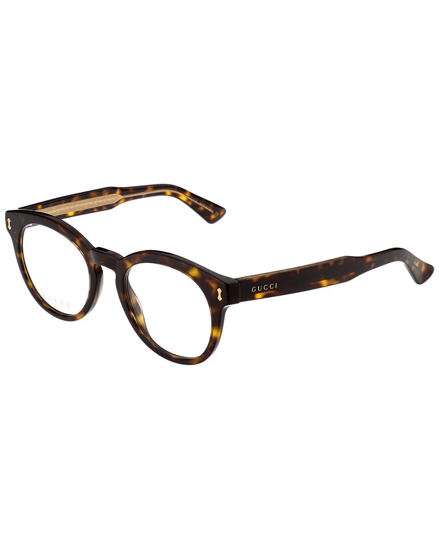 ac8efd4b7f9 Gucci Unisex Gg0185o-30001751006 50Mm Optical Frames