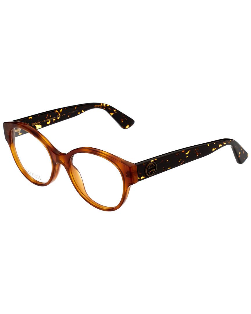 e624ec1d6 Gucci Women's Gg0099o-30001519003 50Mm Optical Frames | eBay