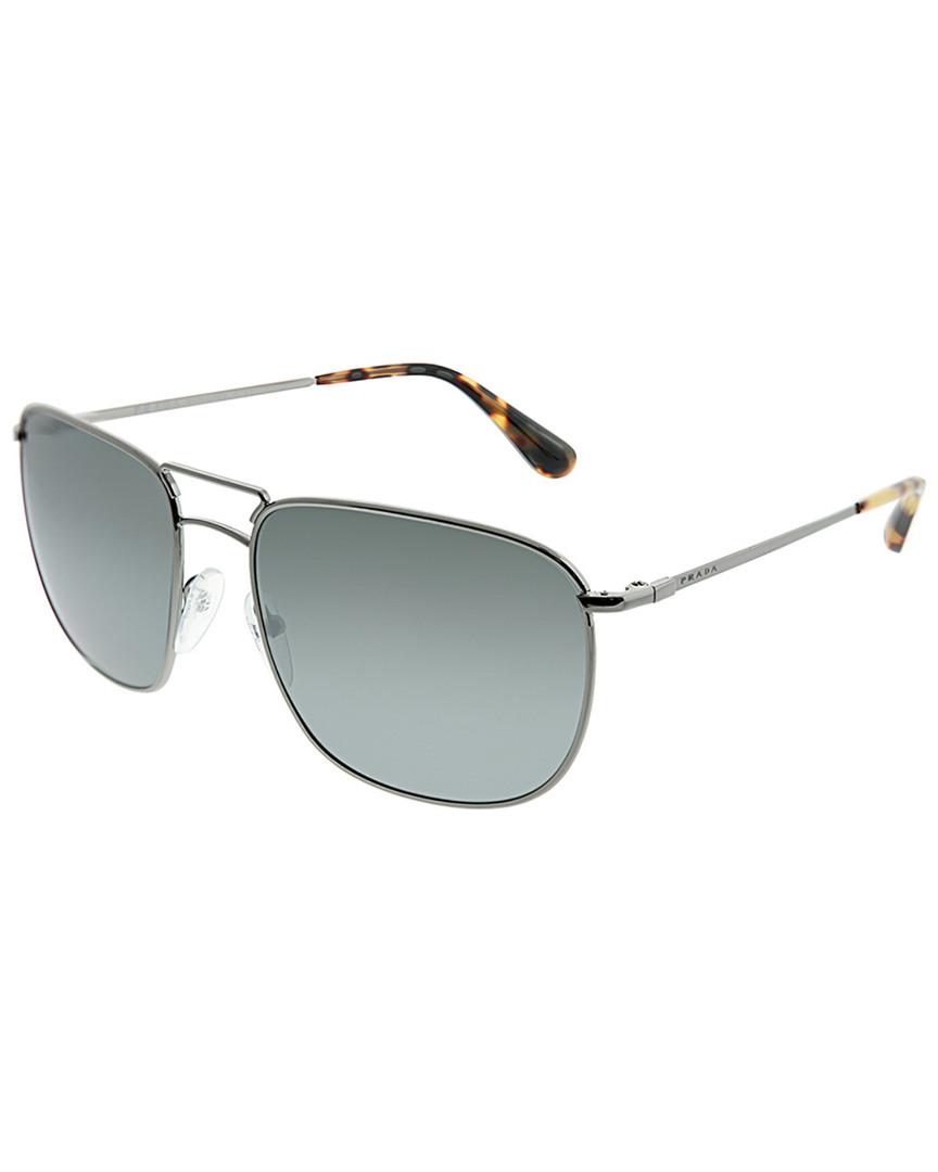 f3bccf9e69 Prada Womens Women s Square 57Mm Sunglasses