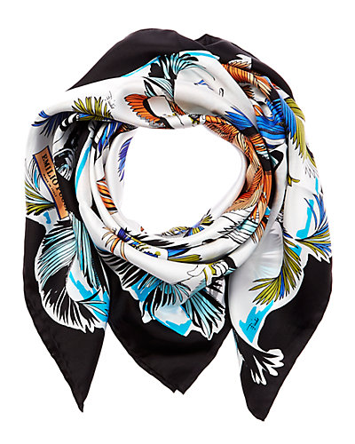 Emilio Pucci Jungle Print Silk Scarf