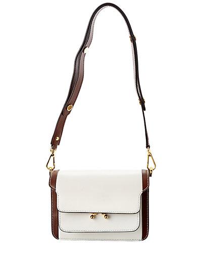 Marni Mini Box Calfskin Leather Trunk Bag