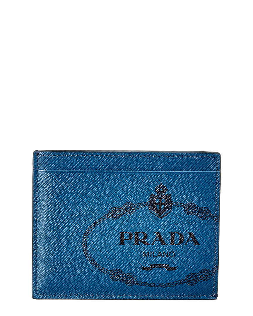 8af07275806f Prada Mens Saffiano Leather Card Holder