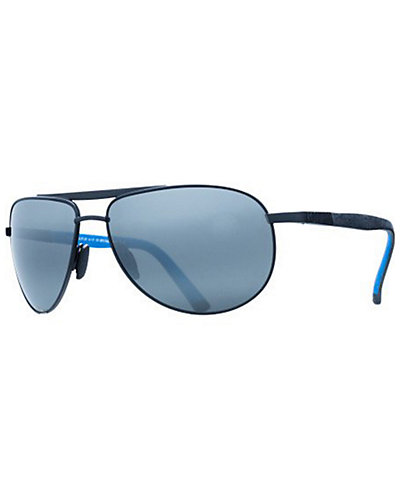 Maui Jim Unisex Leeward Coast Polarized Sunglasses