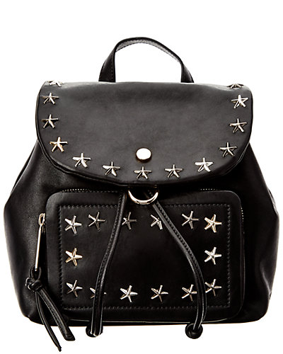 Jimmy Choo Suki Star Studded Leather Backpack
