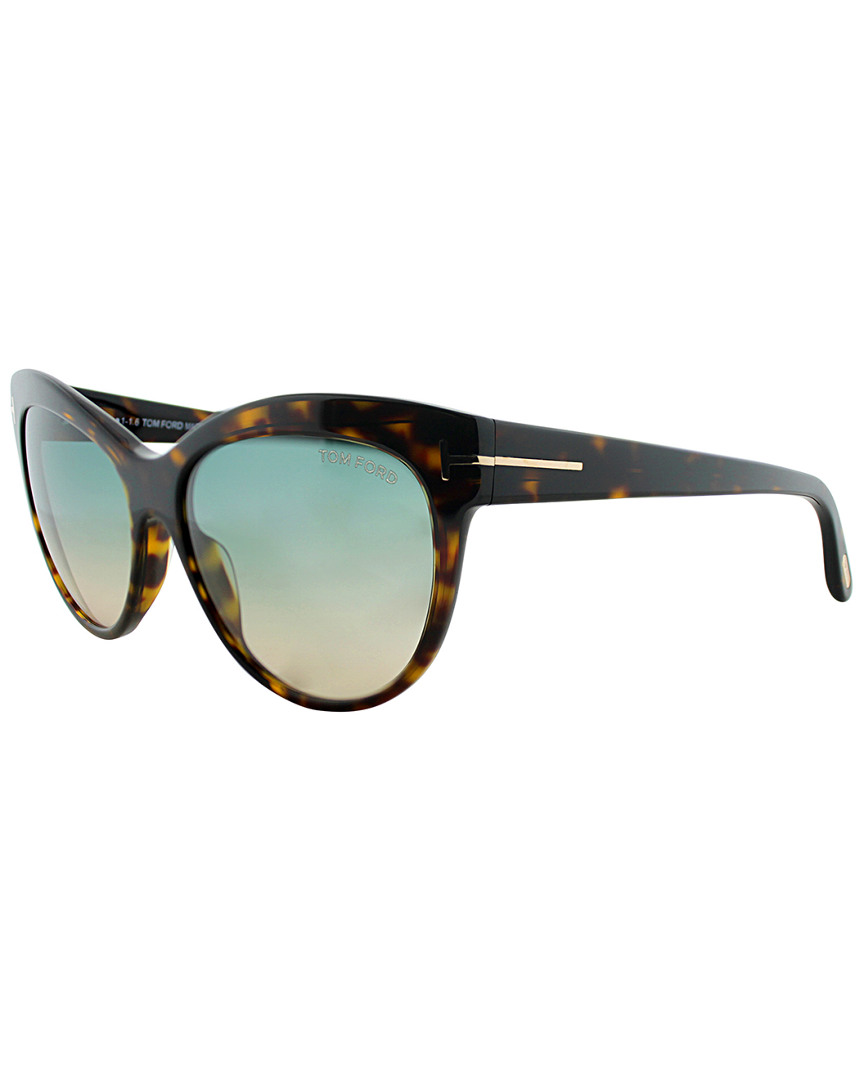 7468fd3dac3 TOM FORD LILY 56MM SUNGLASSES