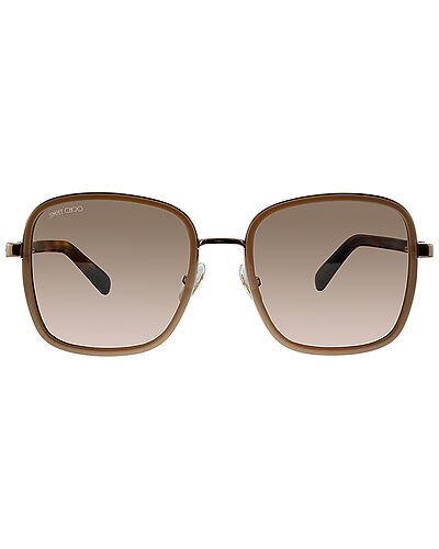 Jimmy Choo Women's Elva 54mm Sunglasses seen on The Wendy Williams Show