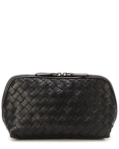 Bottega Veneta Intrecciato Nappa Leather Medium Cosmetic Case