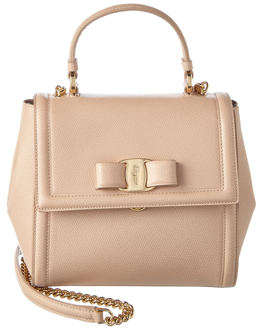 CARRIE LEATHER SATCHEL