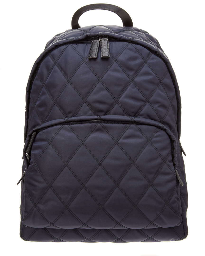 824d58c100865d Prada Nylon And Saffiano Leather Backpack- Fenix Toulouse Handball