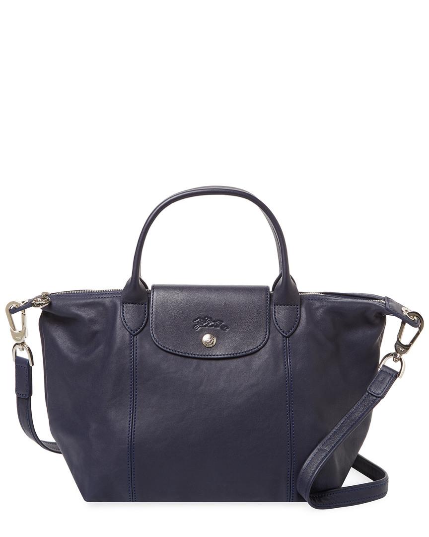 Longchamp Le Pliage Cuir Small Leather Top Handle Tote 1000067263409 ... 3e6f0129fe7