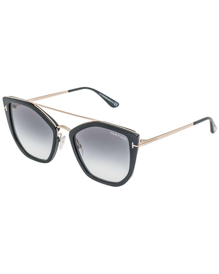 1bff843971248 Tom Ford Womens Women s Dahilia 55Mm Sunglasses 889214000705