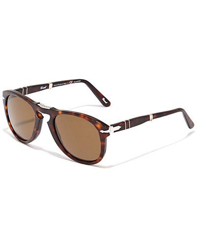 Persol Unisex PO0714 Polarized Folding Sunglasses