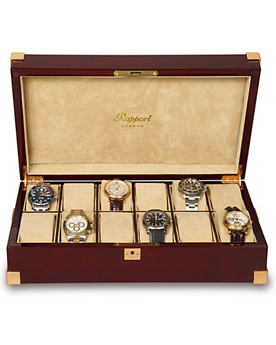 Rapport Captain 12-Watch Collector Case