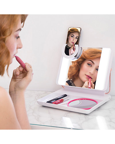 Just Own It Unisex Spotlite HD Ultra-Bright True Daylight Makeup Mirror as seen on the Rachel Ray Show deals