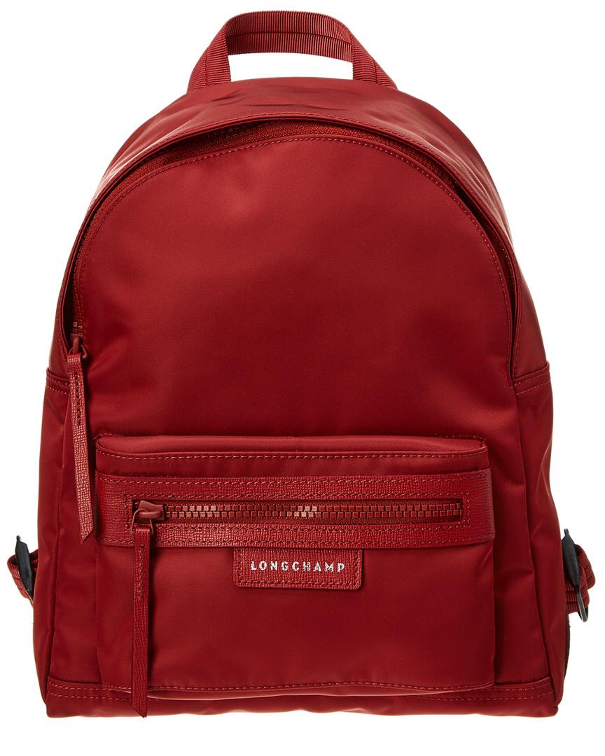 Longchamp Le Pliage Neo Small Nylon Backpack Red 3597921382898 Ebay