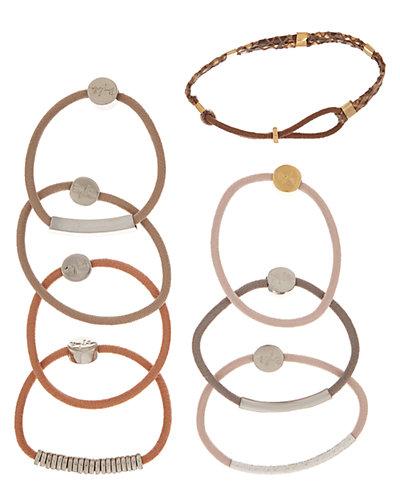 By Lilla 8pk Canyon Hair Tie Bracelets