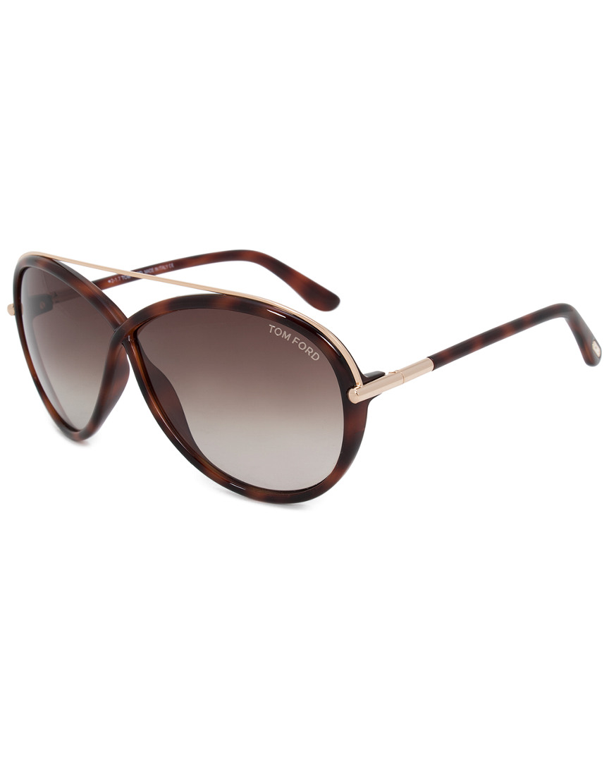 TAMARA OVAL SUNGLASSES FT0454 52K 64 54MM SUNGLASSES