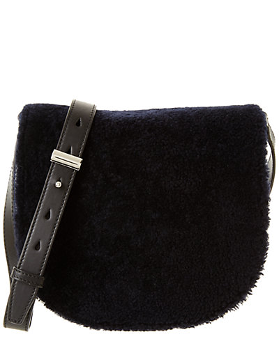 Alexander Wang Lia Small Leather & Sheepskin Crossbody