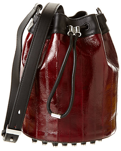 Alexander Wang Alpha Patent Bucket Bag