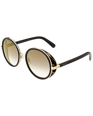 Jimmy Choo Andie Crystal 54mm Sunglasses seen on The Wendy Williams Show