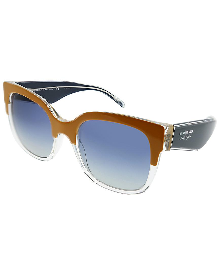 b1eff0cf8 Burberry Womens Women's Square 56Mm Sunglasses 8053672895247 | eBay