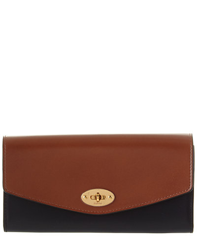 Mulberry Darley Leather Long Continental Wallet