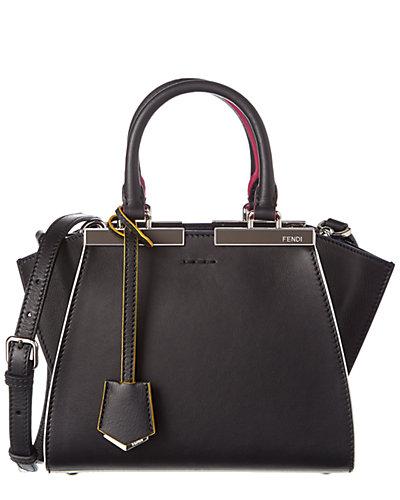 FENDI Mini 3Jours Leather Shopping Tote