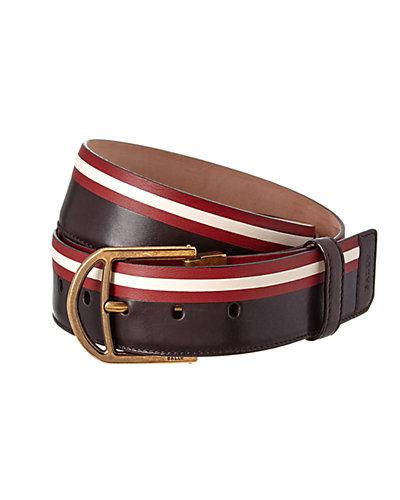 Bally Clinn Adjustable Leather Belt