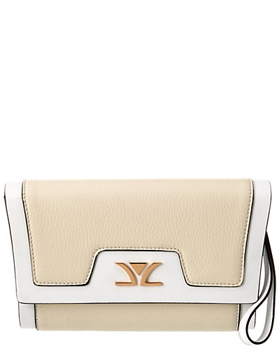 Le Vian Luxury™ Liz Leather Clutch