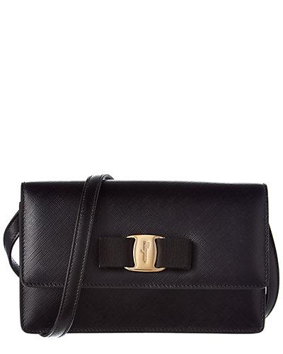Salvatore Ferragamo Vara Bow Leather Minibag