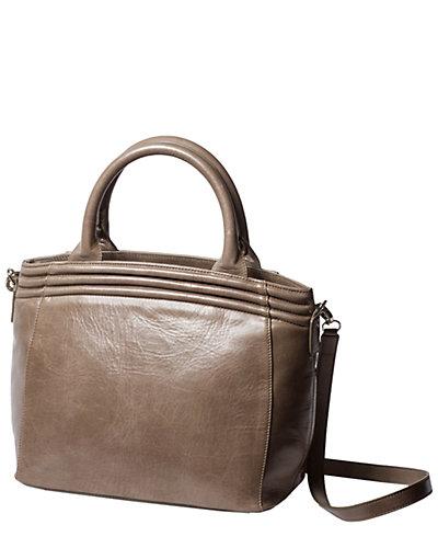 Lauren Cecchi Getaway Leather Tote
