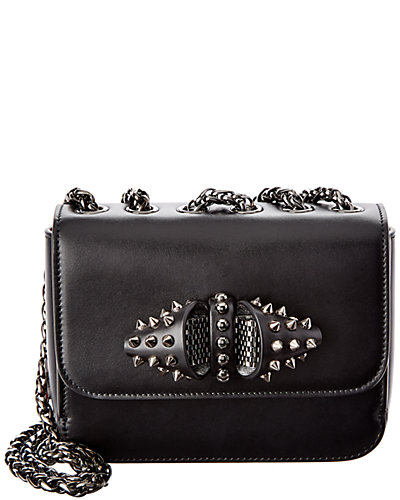 Christian Louboutin Sweet Charity Baby Leather Chain Bag