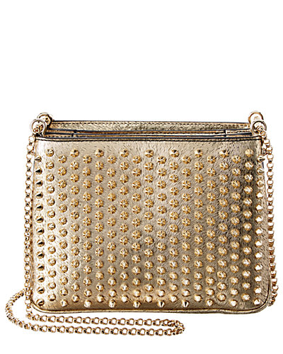 Christian Louboutin Triloubi Large Leather Chain Bag