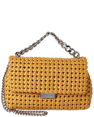 Stella McCartney Becks Weaved Small Shoulder Bag