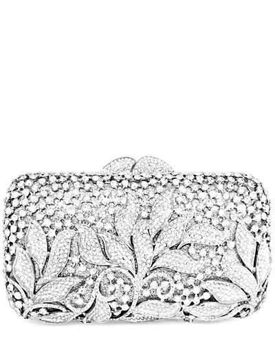Dolli Classic Leaves Crystal Clutch