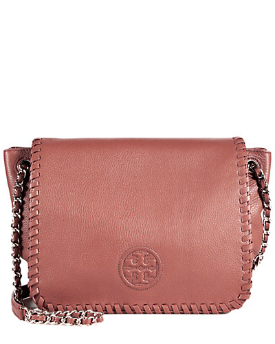 Tory Burch Marion Small Leather Flap Shoulder Bag