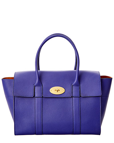Mulberry New Bayswater Small Classic Grain Leather Tote
