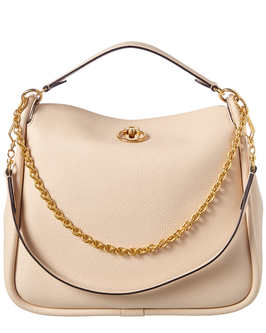 popular stores release date: united kingdom Details about Mulberry Leighton Small Leather Shoulder Bag Women's White