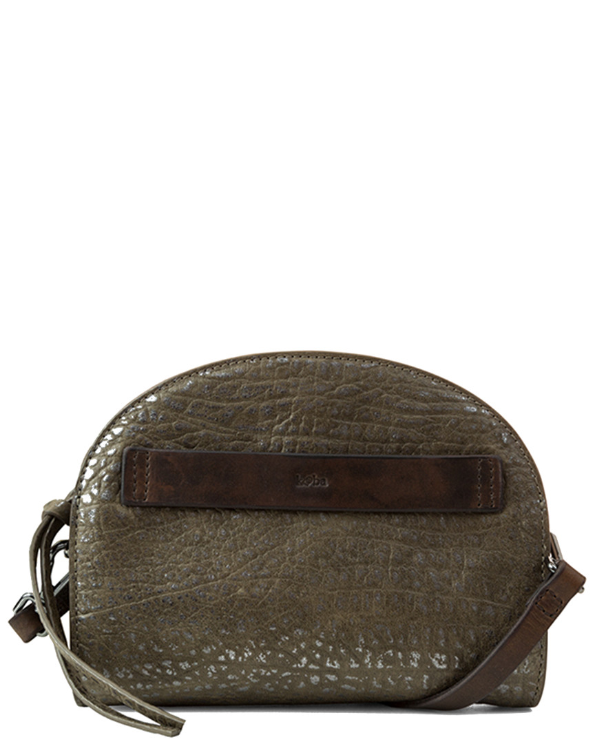 Kooba RIDGEFIELD DOME LEATHER MINI CROSSBODY