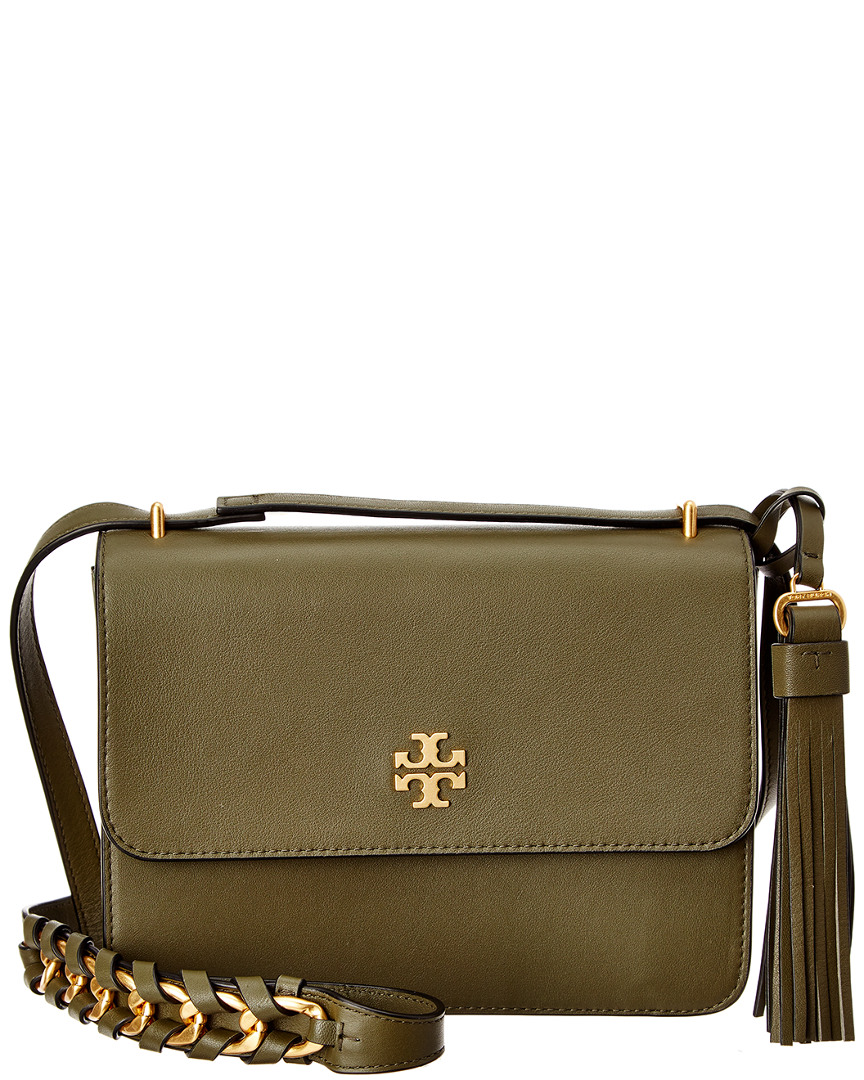 63c331482eb Tory Burch Brooke Leather Shoulder Bag In Green