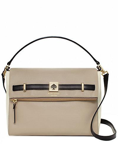 Kate Spade New York Houston Street Leather Maria Satchel
