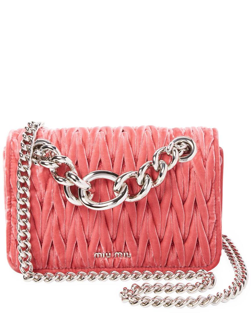 Miu Chain Shoulder Bag